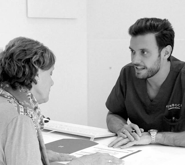 hinboca clínica dental, situada en Aluche, Las Águilas, Madrid